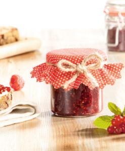 Mermeladas, miel y fruta